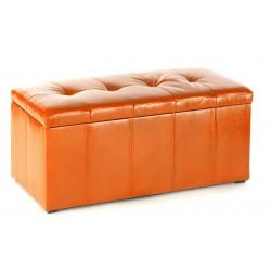 Пуф Эгина 2 оранжевый