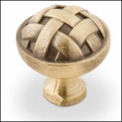 Ручка-кнопка, RK-005, бронза