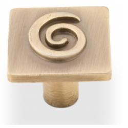 Ручка-кнопка, RK-007, бронза