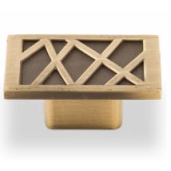 Ручка-кнопка, RK-018, бронза