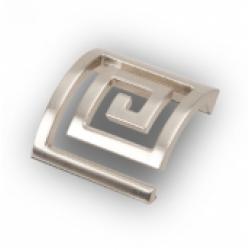 Ручка-кнопка, RK-029, атласный никель