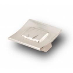 Ручка-кнопка, RK-030, атласный никель