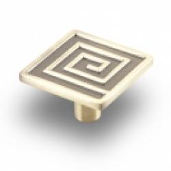 Ручка-кнопка, RK-031, бронза