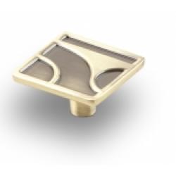 Ручка-кнопка, RK-032, бронза