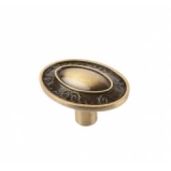Ручка-кнопка, RK-036, бронза