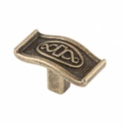 Ручка-кнопка, RK-054, оксидированная бронза