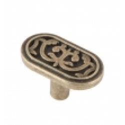 Ручка-кнопка, RK-060, оксидированная бронза