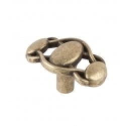 Ручка-кнопка, RK-061, оксидированная бронза