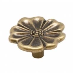 Ручка-кнопка, RK-064, оксидированная бронза