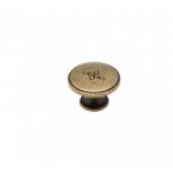 Ручка-кнопка, RK-066, оксидированная бронза