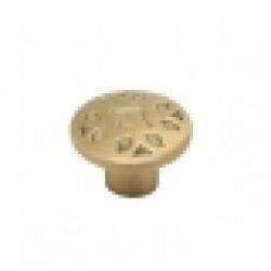 Ручка-кнопка, RK-067, атласная бронза