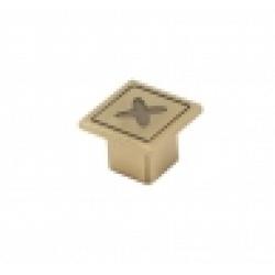 Ручка-кнопка, RK-070, атласная бронза