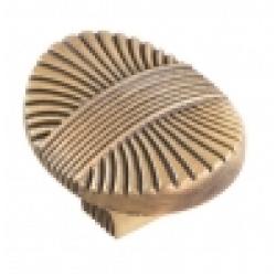 Ручка-кнопка, RК-075 атласная бронза